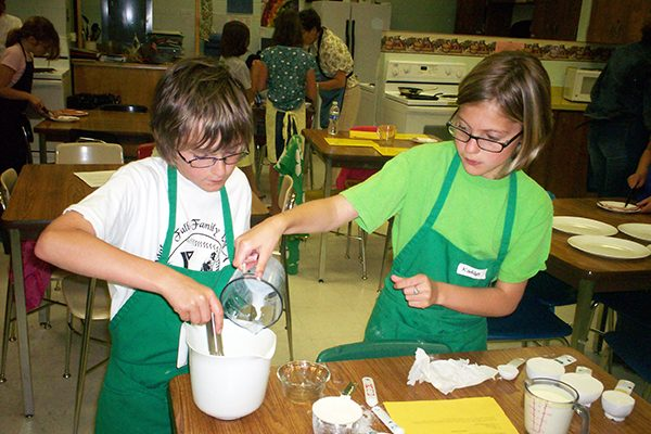 4-H Cooking, Sewing, Crafts and more!